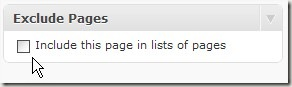exclude page wordpress plugin