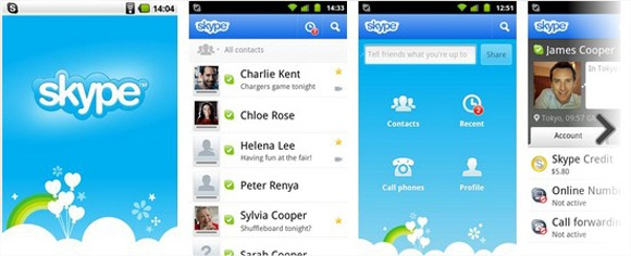 Skype - Android Market screen shot