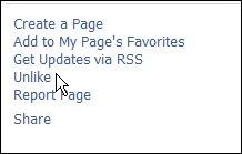 ขั้นตอนที่ 2 กด Unlike ที่หน้า facebook fanpage