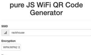 การสร้างป้าย QR CODE เพื่อให้คนอื่นแสกนเชื่อมต่อกับ WIFI ของเรา