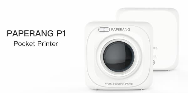 Paperang P1 thermal Printer สำหรับแม่ค้าออนไลน์